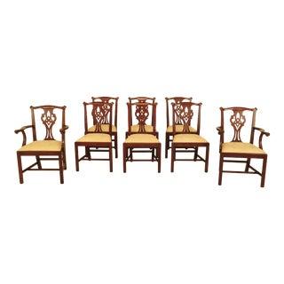 Henkel Harris Mahogany Dining Room Chairs - Set of 8