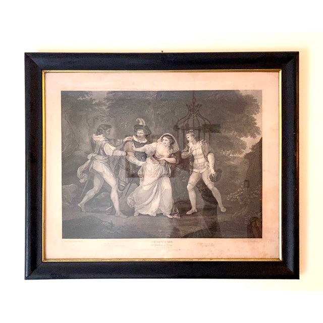 """18th Century English Engraving From Shakespeare's """"Two Gentlemen of Verona"""" For Sale - Image 13 of 13"""
