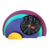 Image of 1990s Tabletop Modern Elliptical Clock For Sale