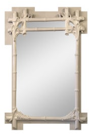 Image of Faux Bamboo Wall Mirrors