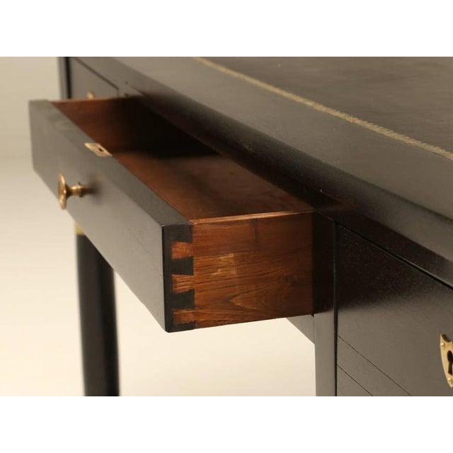 French Empire Style Ebonized Desk For Sale - Image 4 of 11