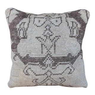 Turkish Oushak Carpet Pillow