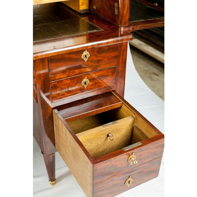 19th Century Louis XVI Cylinder Bureau For Sale - Image 4 of 13