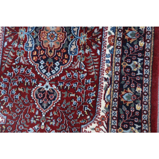 Hand Knotted Kerman Rug - 3′ × 5′11″ For Sale - Image 4 of 7