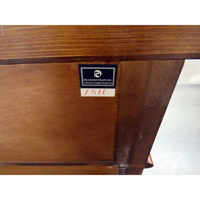 Decorative Crafts Regency Style Inlaid Sideboard For Sale - Image 12 of 13
