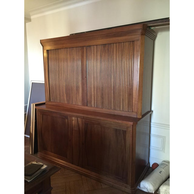 French Cabinet with Accordion Doors - Image 2 of 7