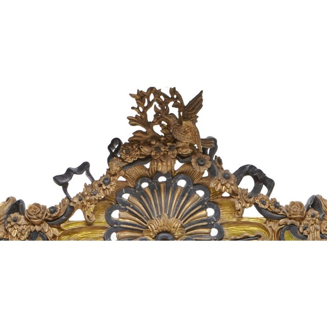 Italian Rococo Style Gilt Console Table For Sale - Image 10 of 13