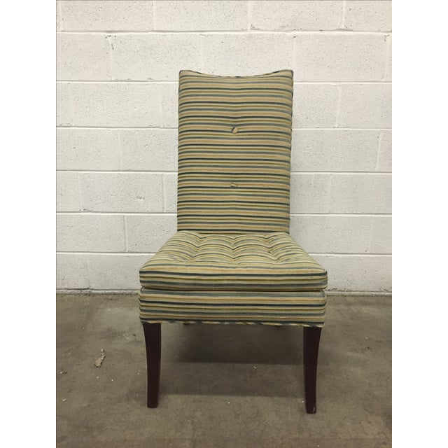 Striped R. Jones Dining Chairs - Set of 6 - Image 2 of 9