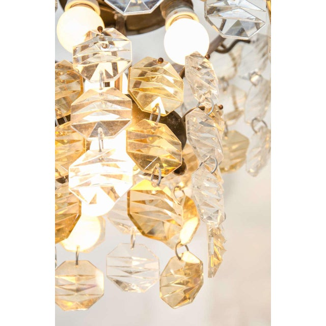 Two-Toned Murano Glass Chandelier For Sale In New York - Image 6 of 7
