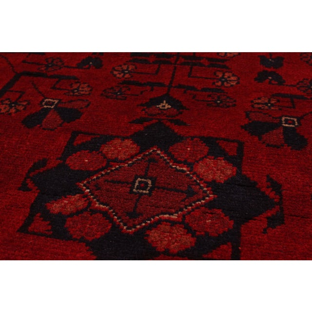 "Finest Khal Mohammadi Afghan Rug - 5' X 6'8"" - Image 2 of 2"