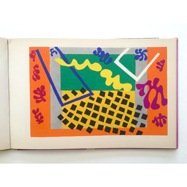 "Henri Matisse "" Jazz "" Rare 1st Edition Vintage 1960 Lithograph Print Museum of Modern Art Collector's Hardcover Art Book For Sale In Kansas City - Image 6 of 13"