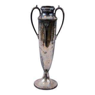 Antique Silver Loving Cup Trophy