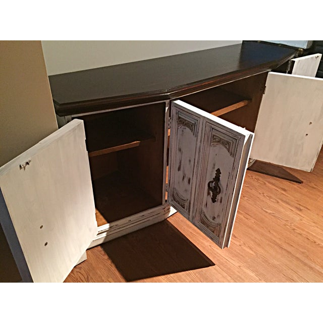 Distressed Wooden Sideboard Buffet - Image 9 of 9