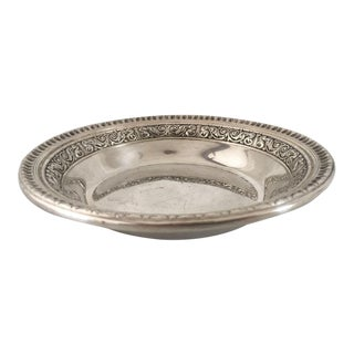 Silver Plated Reed & Barton Nut Dish For Sale