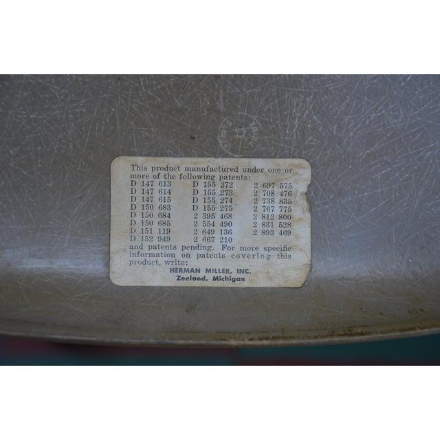 1958 Vintage Eames Molded Dowel-Leg Fiberglass Chairs - Set of 4 - Image 5 of 5