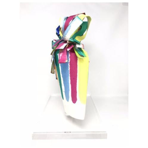 """Abstract Vintage Mid-Century Groboski """"Ribbons #24"""" Paper Sculpture For Sale - Image 3 of 4"""
