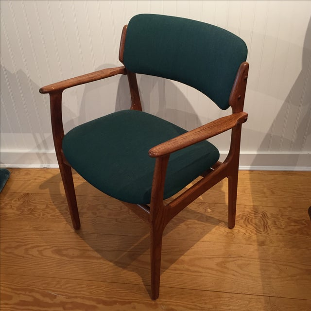 Danish Modern Erik Buch Chairs - Set of Two - Image 10 of 11