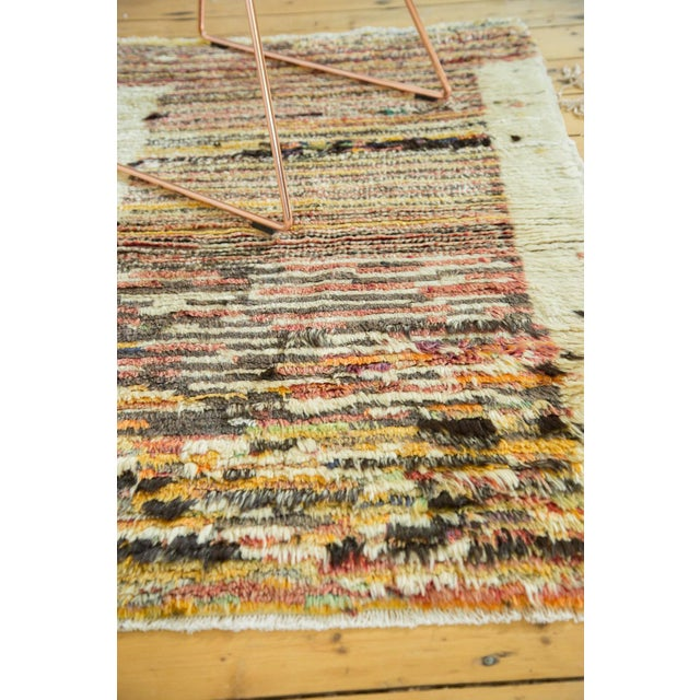 "Boho Chic Vintage Tulu Rug - 2'11"" X 4'4"" For Sale - Image 3 of 6"