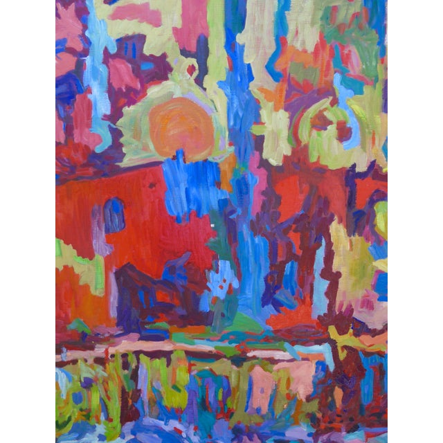 Monumental Abstract House Painting - Image 4 of 7