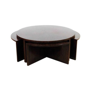 Ralph Lauren Nesting Cocktail Table - 5 Pieces For Sale