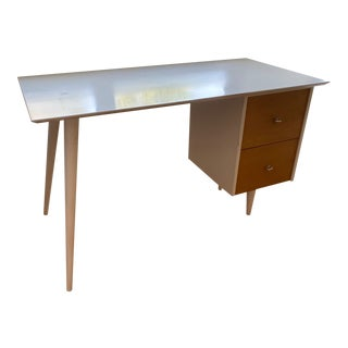 Two Tone Paul McCobb Planner Group Desk For Sale