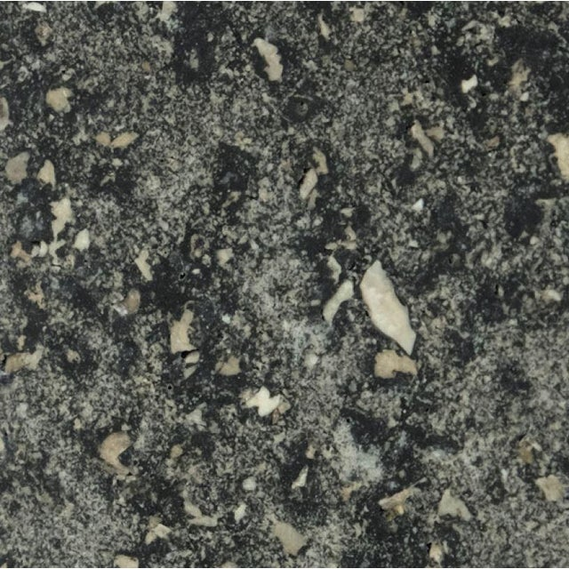 Cast Resin 'Spring' Dining Table, Coal Stone by Zachary A. Design For Sale - Image 9 of 10