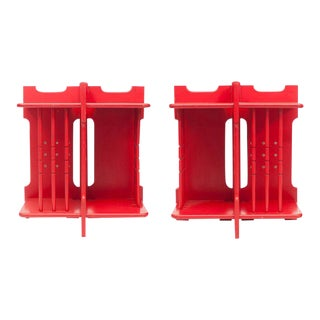 Modernist Stackable Side Tables For Sale