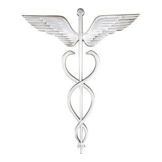 Cast Aluminum Medical Doctor Caduceus Exterior Trade Sign