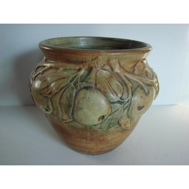 Apple Pattern Weller Vase Chairish