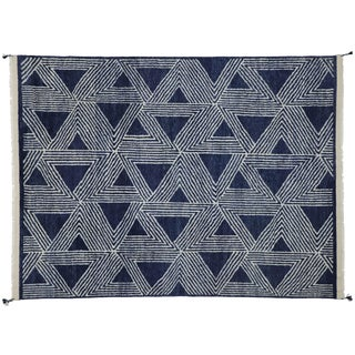 Contemporary Geometric Moroccan Rug With Deconstructivism Style - 9′2″ × 12′ For Sale