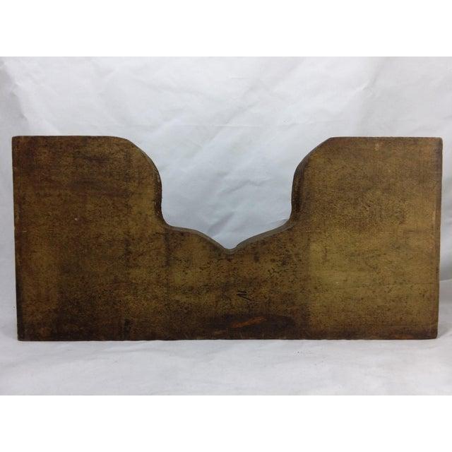 Rustic Antique Cash Register Wood Change Organizer - Image 8 of 8