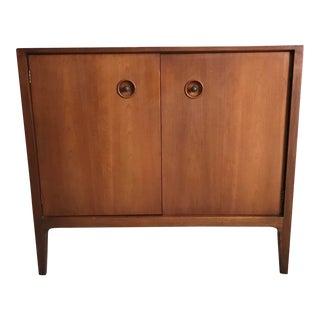 1950s Mid Century Drexel Counterpoint John Van Koert 2 Door Cabinet For Sale