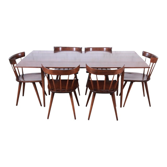 Paul McCobb Planner Group Mid-Century Modern Dining Set, Newly Restored For Sale
