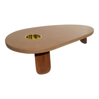 Mid-Century Modern Cork Coffee Table For Sale