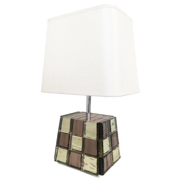 Riflesso Table Lamp by Effetto Vetro for Gaspare Asaro For Sale - Image 11 of 11