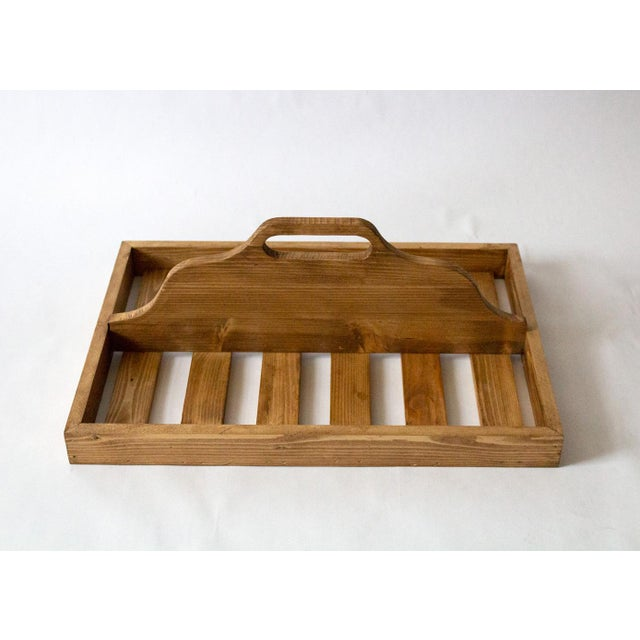Vintage Wooden Berry Carrier For Sale - Image 4 of 7