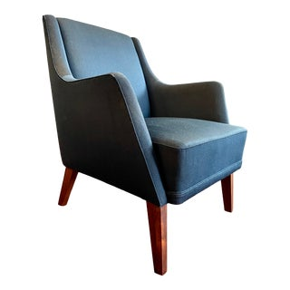 Ole Wanscher Style Danish Easy Chair 1960s For Sale