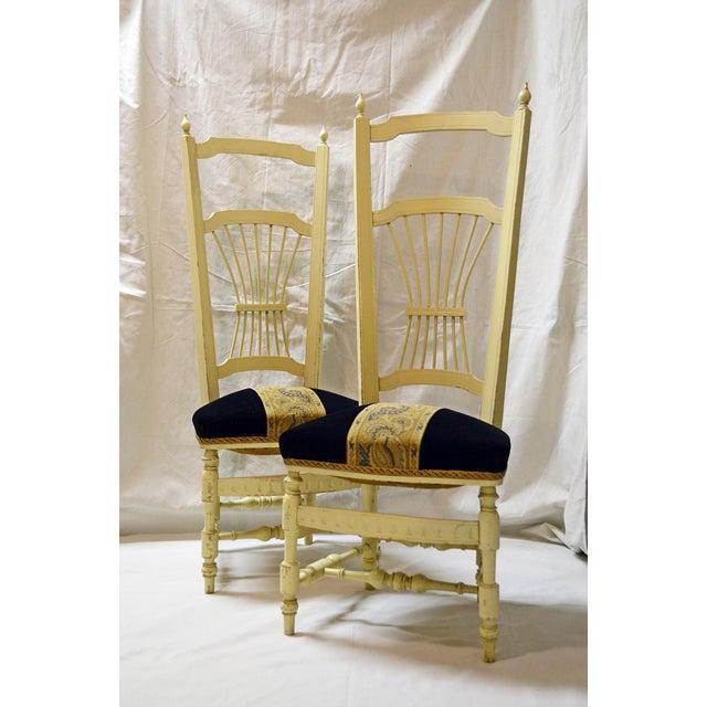 Chiavari High Back Chairs - A Pair - Image 2 of 9