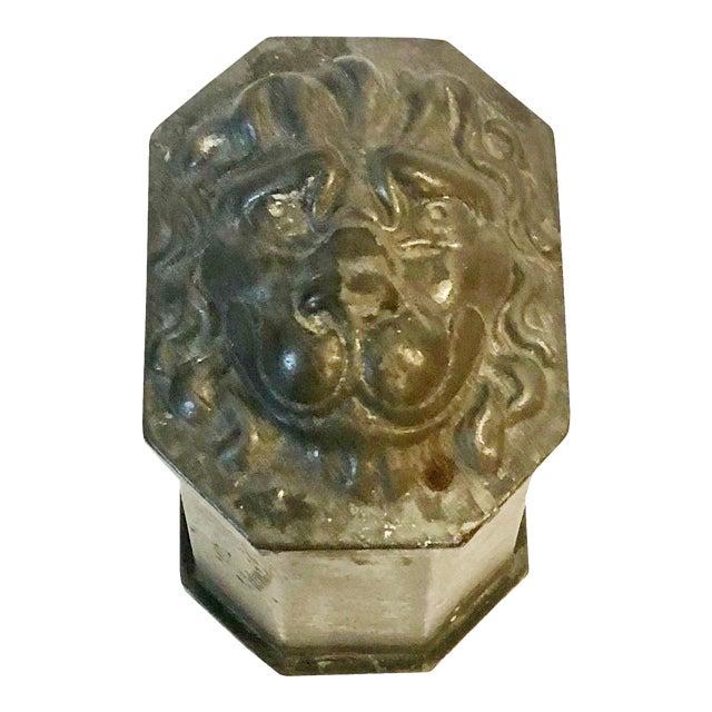 Vintage Lion's Head Box For Sale