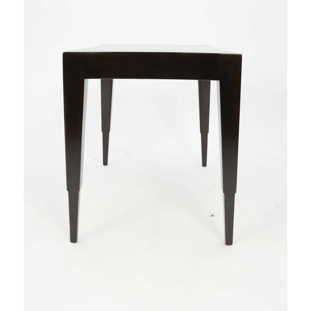 Johan Tapp Dark Walnut Lacquer Lamp Table For Sale In Portland, OR - Image 6 of 7