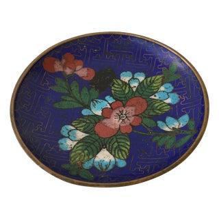 Vintage Cloisonné Bowl For Sale