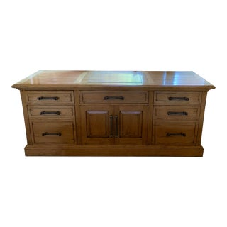 Contemporary Office Credenza For Sale