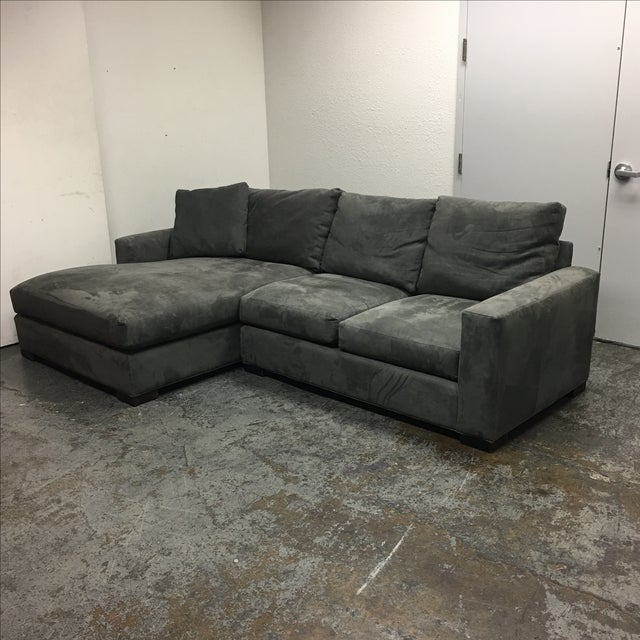 Room & Board Metro Sectional Sofa - Image 4 of 8