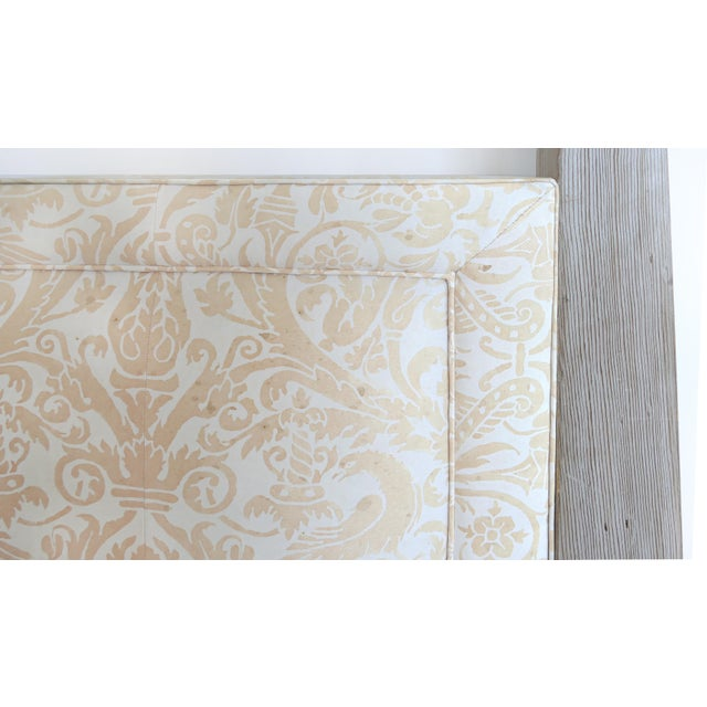 Arts and Crafts Tommi Parzinger Cerused King Size Headboard For Sale In Miami - Image 6 of 7