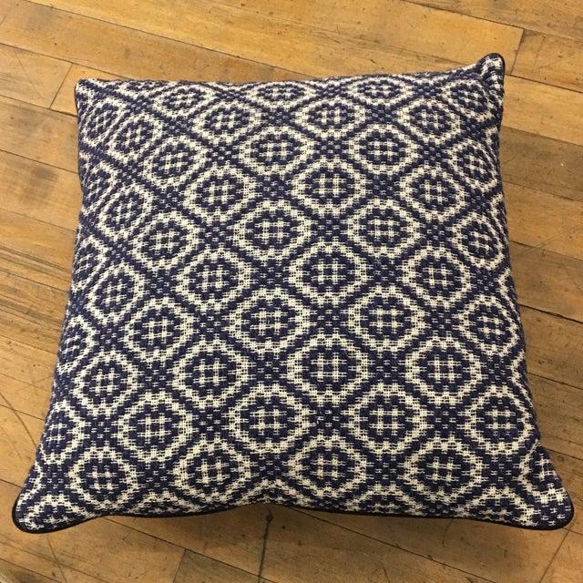 Gray Italian Artisan Pillow - Image 2 of 4