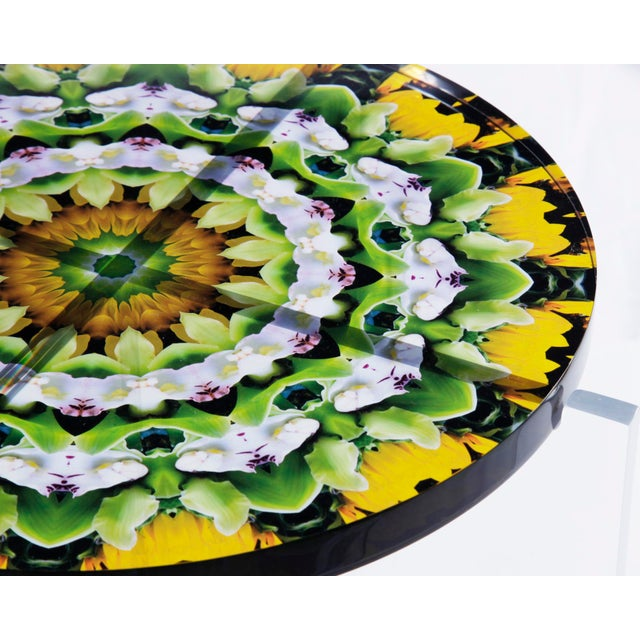 Not Yet Made - Made To Order Signed Hand Made Acrylic Mandala Tables For Sale - Image 5 of 5