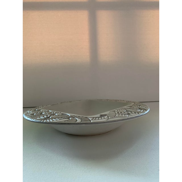 Mid-Century Modern 1957 Herb Cohen for Hyalyn Porcelain Bowl For Sale - Image 3 of 6