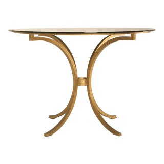 Small French Gilt Table For Sale