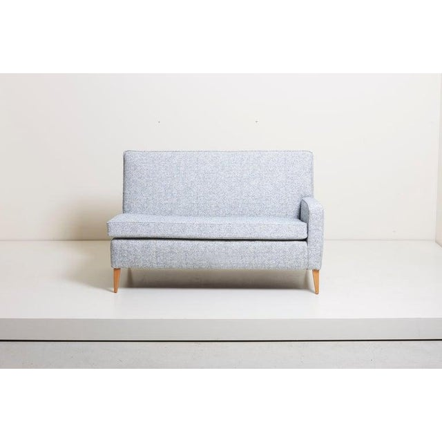 Mid-Century Modern Paul McCobb Sectional Corner Sofa Custom Craft/ Planner Group Newly Upholstered For Sale - Image 3 of 13