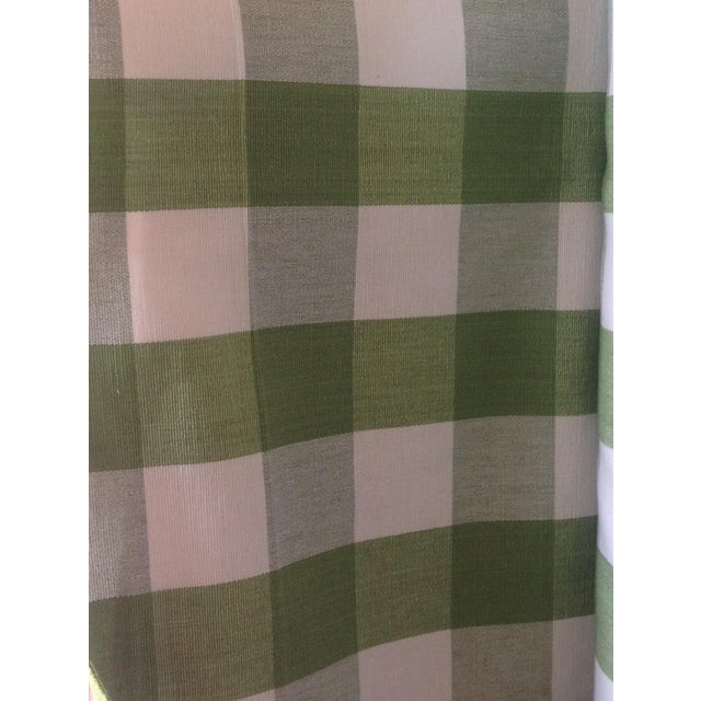 Ralph Lauren Green Bedford Gingham - 5 Yards - Image 1 of 4